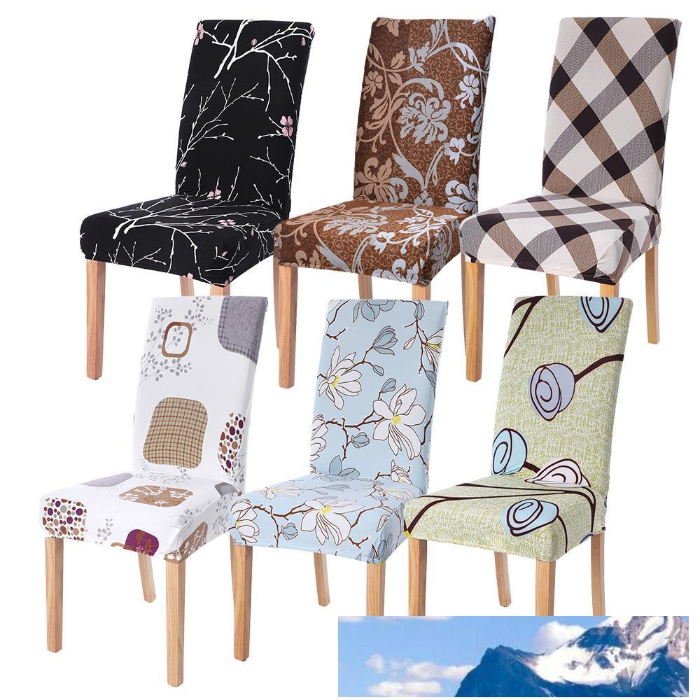 1pc Stretch Elastic Spandex Universal Chair Cover Home Party Chairs Slipcovers