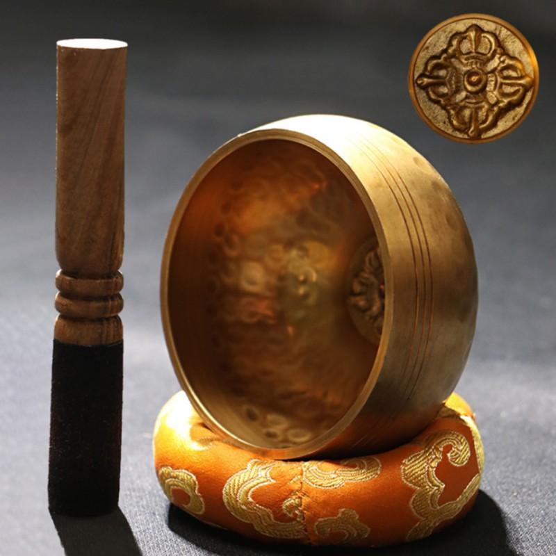 Instruments Yoga 1PC Singing Bowl pura meditação Cobre Buda Som bacia Buda Som Copper