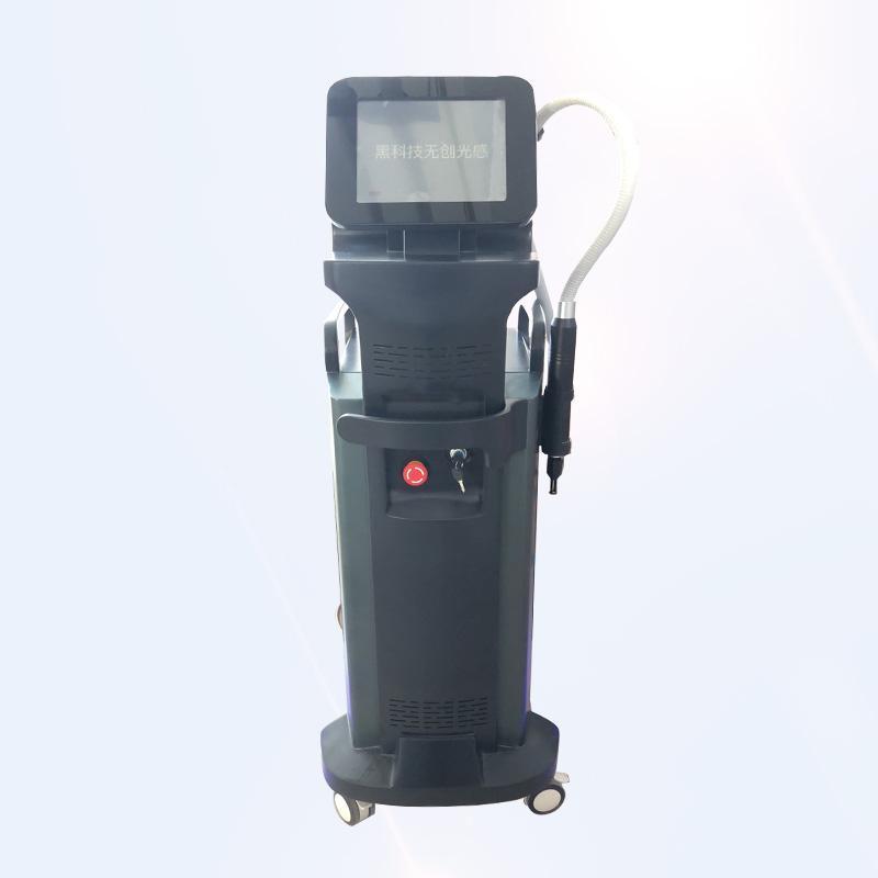6 ipuçları 1064 ile Nd Yag Lazer Makinesi Kaldır Tattoo Q-anahtarlı 532 755 1320 Multi Dalgaboyu seçimi