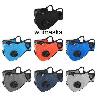 Stokta Tasarımcı! lüks Bisiklet Yüz Maskesi Filtresi PM2.5 Karşıtı Kirlilik Sport ile Aktif kömür