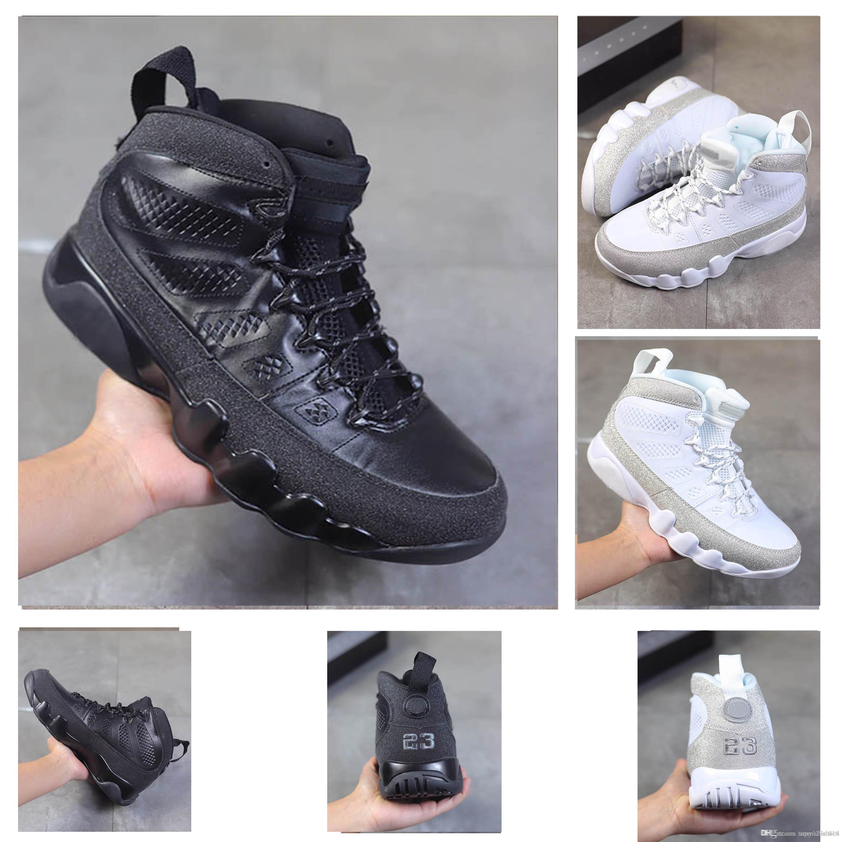 Son yüksek kalite 9 9S Erkek Basketbol Ayakkabı 11 WMNS Metalik Gümüş Tasarımcı Spor Sneakers boyutu Eur40-47