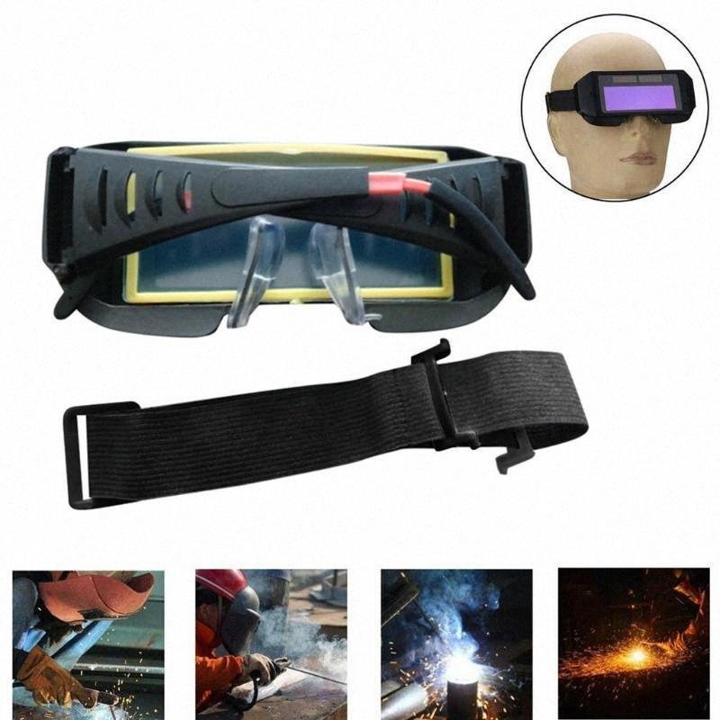 Olhos Goggle Super Proteção Solar Auto Escurecimento Welding Welder Óculos Máscara do capacete de protecção UV Anti Glare% ZnMY #
