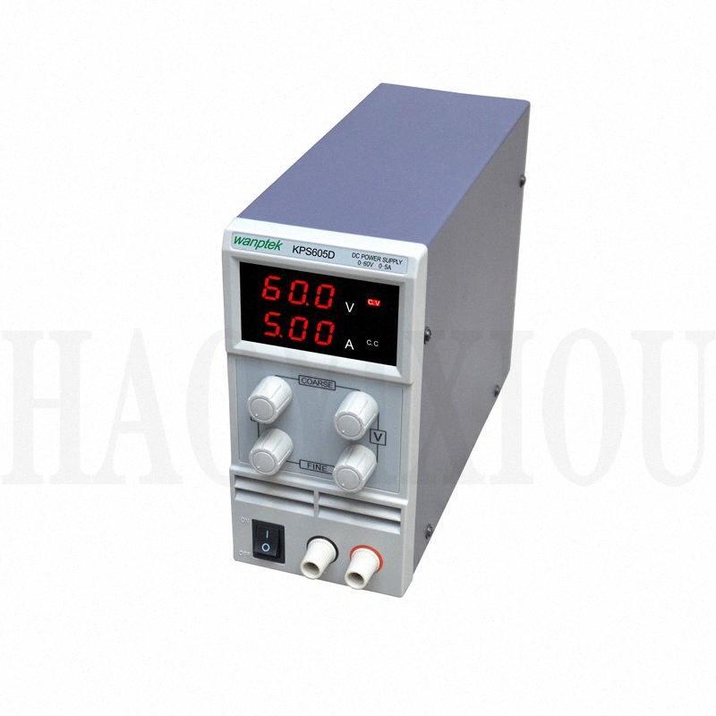 wanptek mini-alimentation à découpage DC 60V 5A KPS605D canal unique réglable SMPS numérique 0-60V / 0-5A 110V-230V 0,1V / 0.01A FNCM #