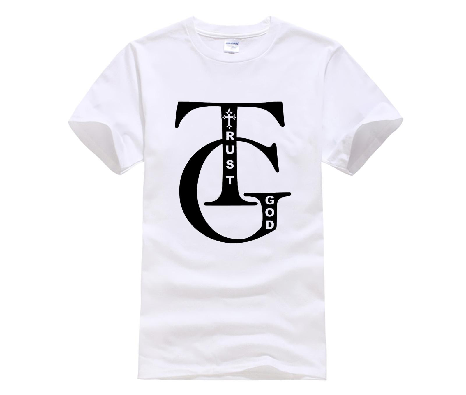 Summer Fashion Street с коротким рукавом Футболка доверия бог псалом 910 мужские премиум Мужская мода 2020 Стиль T Shirt