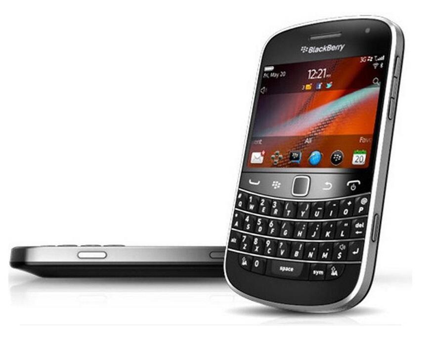 100% Original Blackberry Bold Touch 9900 de 2,8 polegadas da câmera WiFi GPS 5.0MP Recuperado celulares desbloqueados