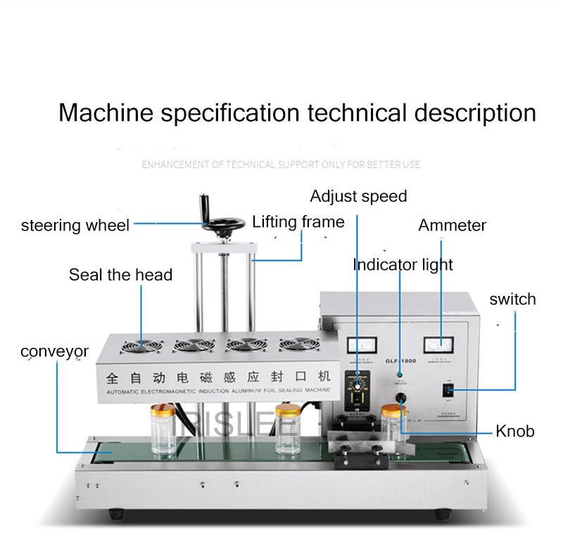 2020 La venta de acero inoxidable y aluminio Mejor producto barato lámina máquina sellador tapa de la taza de plástico, de sellado por inducción máquina