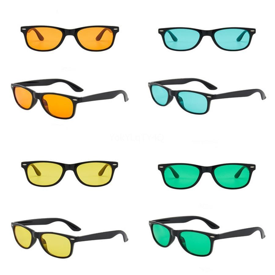 Marco de la vendimia polarizadas de conducción gafas de sol de las mujeres de los hombres Rand V Corea Igang Soñador Off Sqre protección UV UV # 408