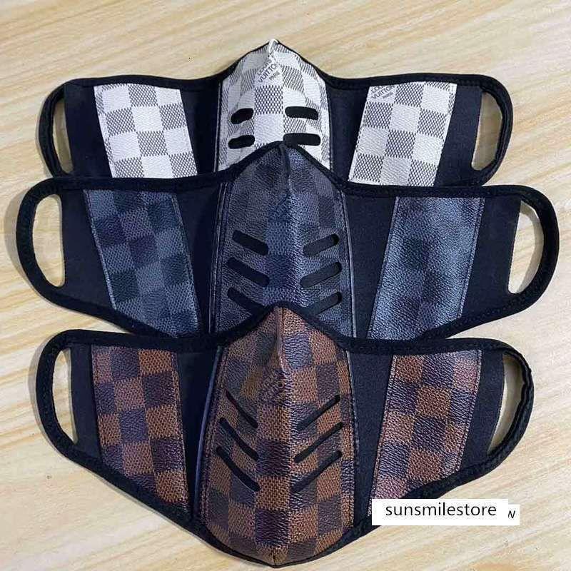 Фирменный стиль унисекс лицо моющиеся дышащая роскошный дизайн маски модный печати многоразовые ветрозащитной против пыли велосипедного маски
