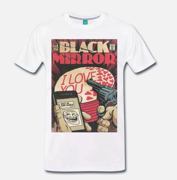 T Shirt Maglia Meme Black Mirror Serie Tv Fumetto Comic Cult S 5xl Mens Fashion 2020 100 Cotton For Man Sleeve Harajuku Funny T Shirt Slogans Shirt Shirt From Fjdh03 10 06 Dhgate Com