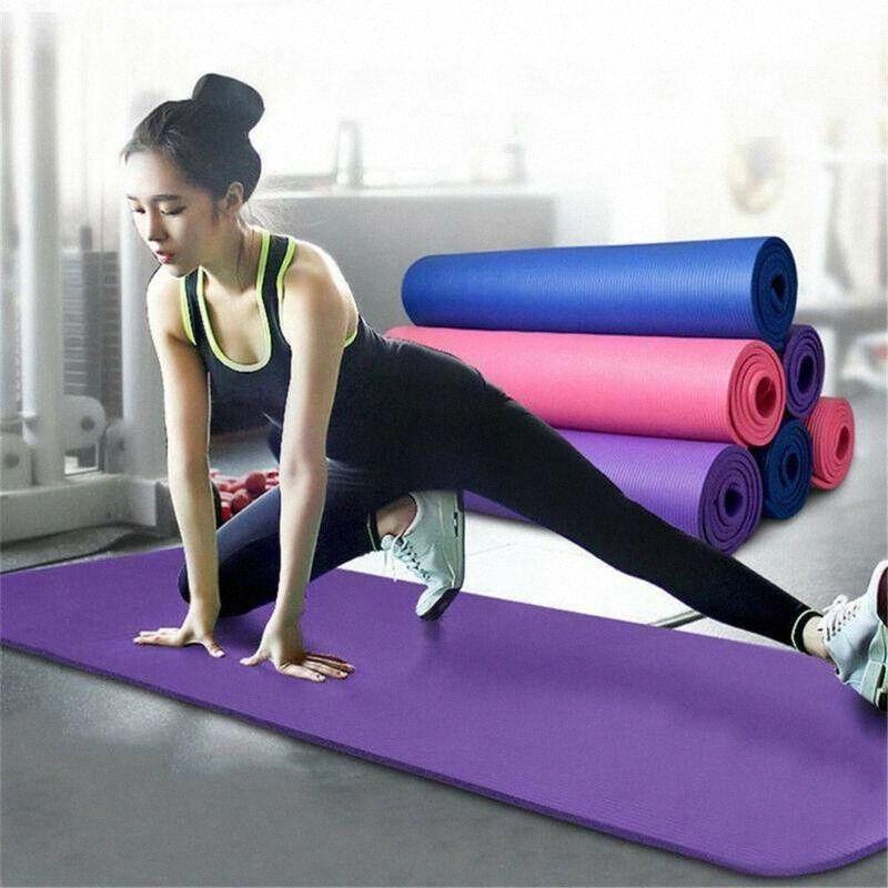 Yoga Mat piccola 15 mm di spessore e durevole Anti-Skid Sport Fitness Anti-Skid Mat per perdere peso Palestra Sport Yoga cuscino Dropshipping 2Zef #