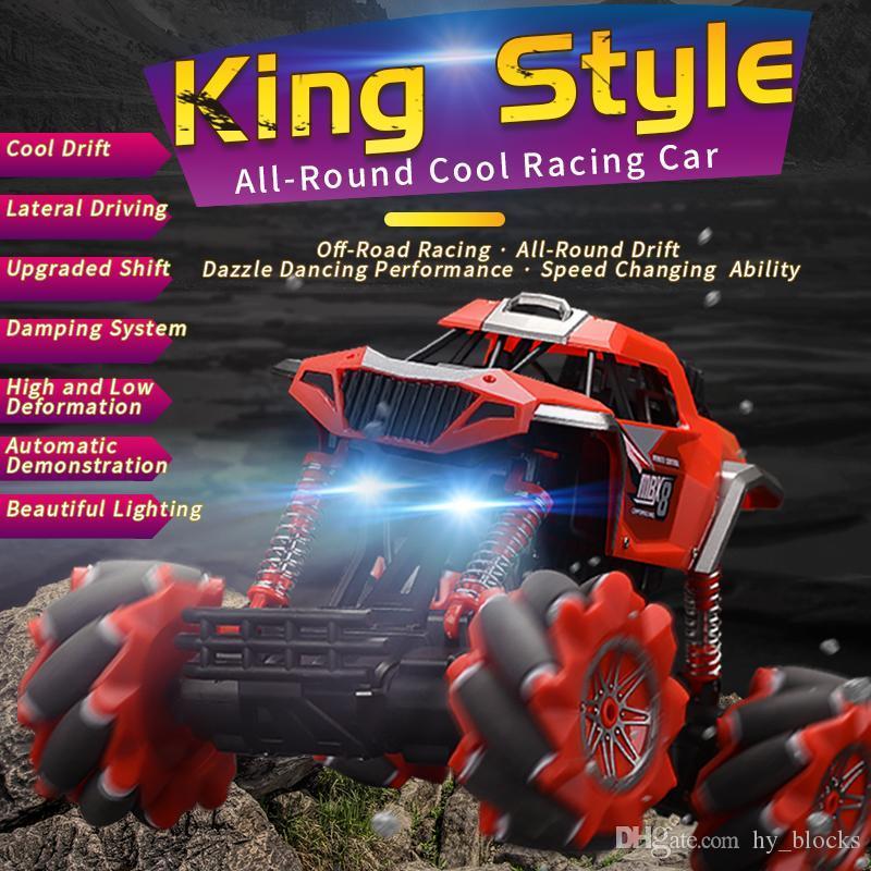 Control RC Boys Vehicle Monster Toy Car 2.4G Regali stradali Arrampicata elettrica 4WD 1:16 Auto Truck per bambini remoti OFF 01 ROXNL