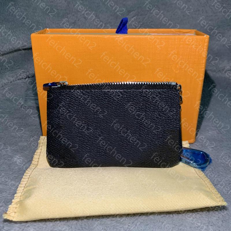 portamonete Zippy pelle Key Pouch Damier tiene il piccolo in pelle portachiavi classico delle donne delle borse della moneta moda Key Portafogli colore 5 con WPKE