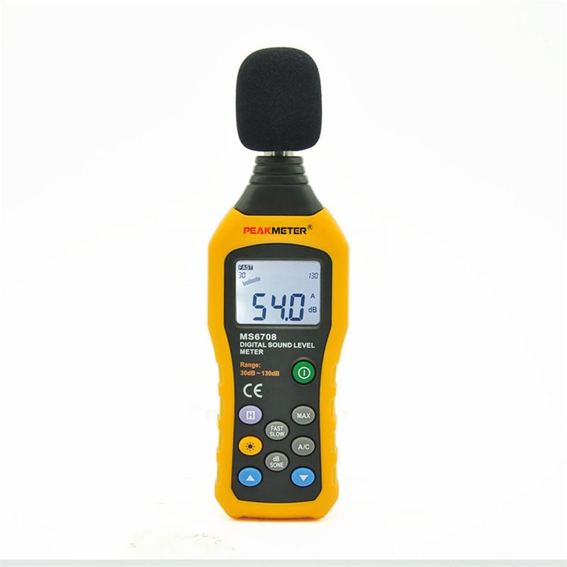 free shipping new type high precision digital sound level meter noise detector voice gauge noise tester Instrument tools CE ROHS approved