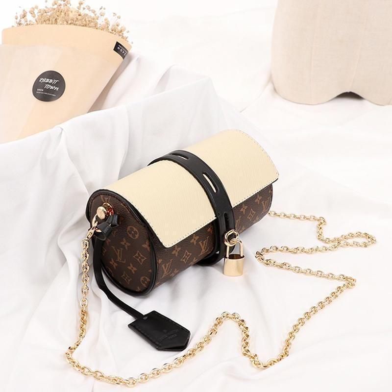 Entrega rápida Womens Bag Moda Sac Femme Mulheres cadeia ombro bolsa de couro pequena aba Crossbody Designer Luxo Womens Shoulder B