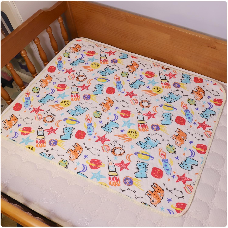 대형 만화 생태면 아기 방수 패드 신생아 패드 비 계층 매트리스 70 * 90cm 매트리스 기저귀 기저귀