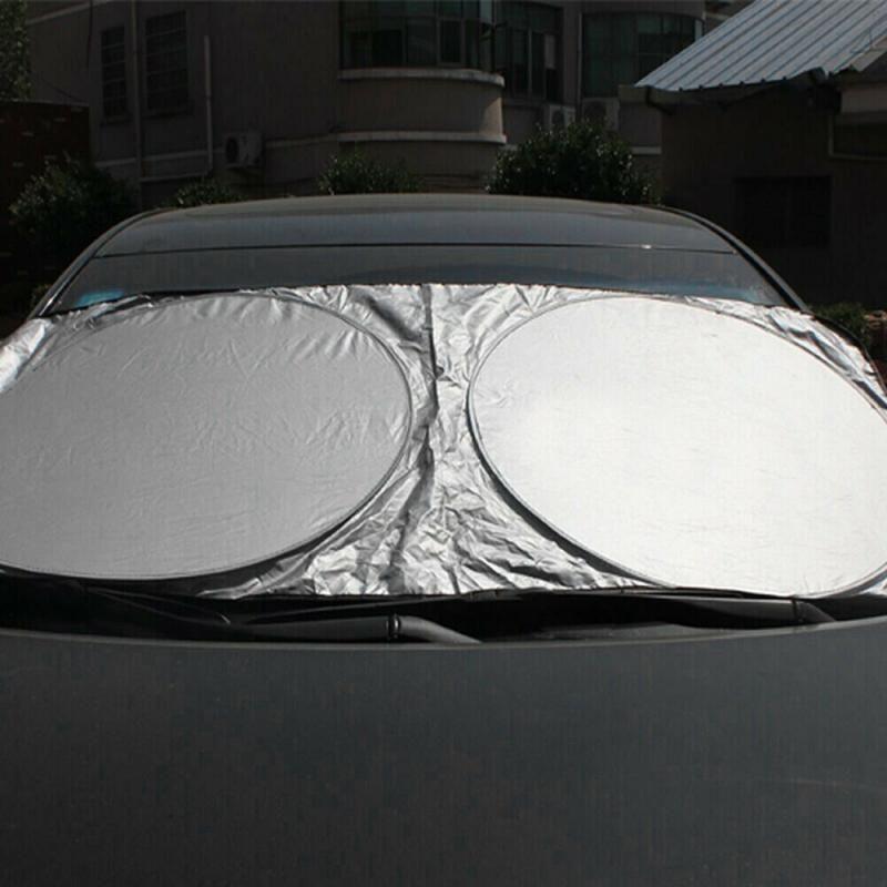 Arrière auto avant voiture fenêtre pare-brise le couvercle du bloc-soleil UV voiture Pare-soleil Film Sun Block Accessoires