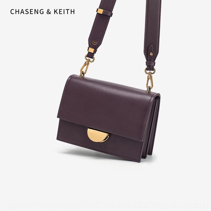 pequeno saco das mulheres ombro crossbody saco pequeno quadrado ombro quadrado novo estilo coreano CK pu textura das lockWomen strap