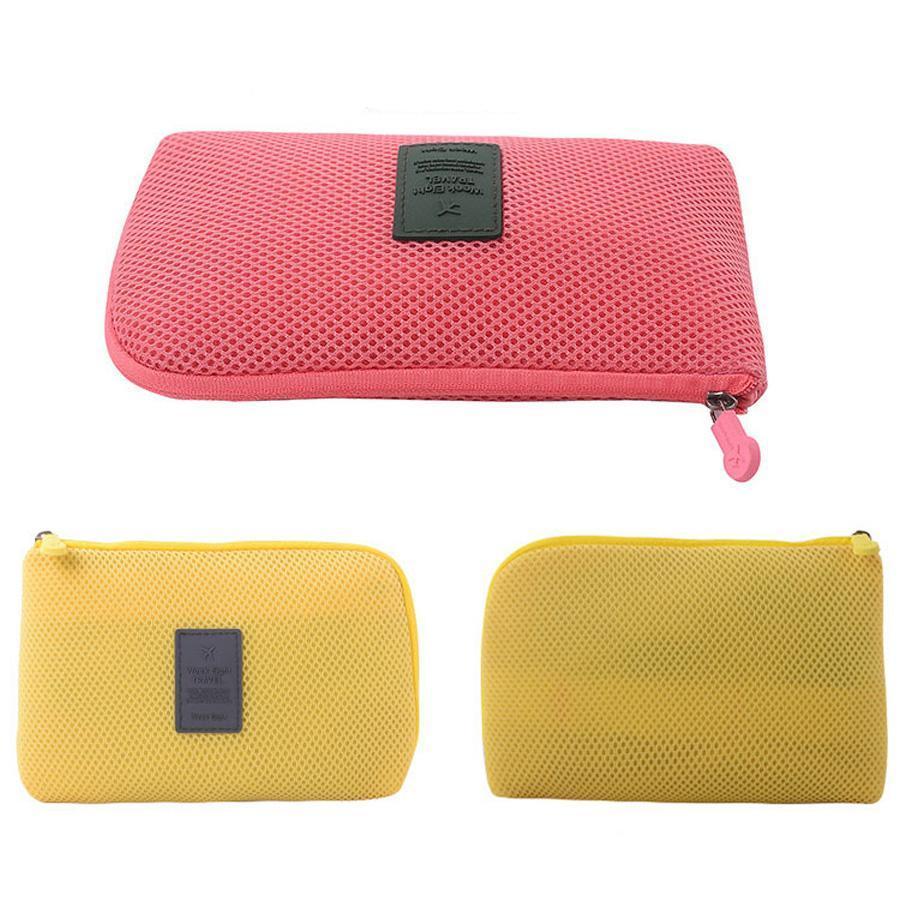 Mini Make-up Taschen Kopfhörer Organizer Stoß- Digital-Speicher-Beutel-im Freien Spielraum leichte, tragbare Ladekabel-Speicher-Beutel DH01015-1