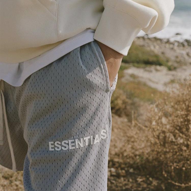Brand Nebbia paura High God Line Doppio Shorts Mesh of Mens Essentials Popular Crutch Street Trendy Pants FRQSL