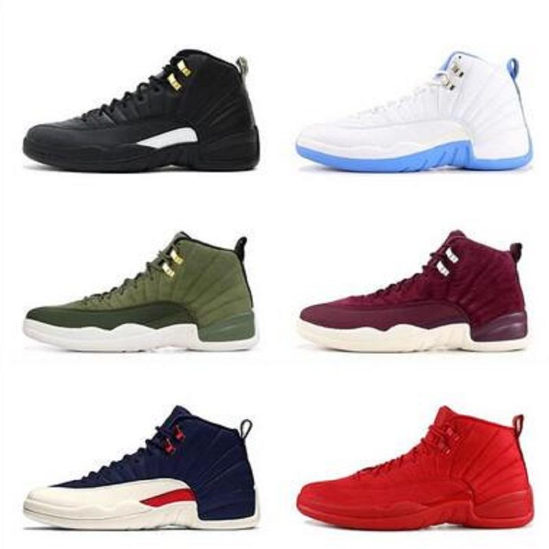 New Hot Punch 12s Game Royal 12 FIBA women mens Jumpman basketball shoes 12s University Gold White Michigan UNC mens trainers sneakers
