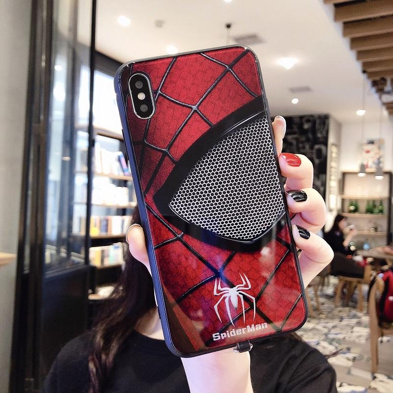 Reminder Incoming Call Iight Up Case For iphone 11 PRO x xs max xr 6 7 6s 8 Plus Voice Activated LED Flash Luminous Glass Cover