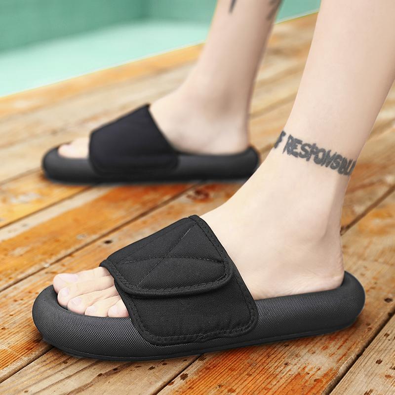 Мулы Мужчины Тапочки Unisex Size45 вскользь обувь пляж сандалии мужчин Вьетнамки обувь Слайды AODLEE Dropshipping оптовая