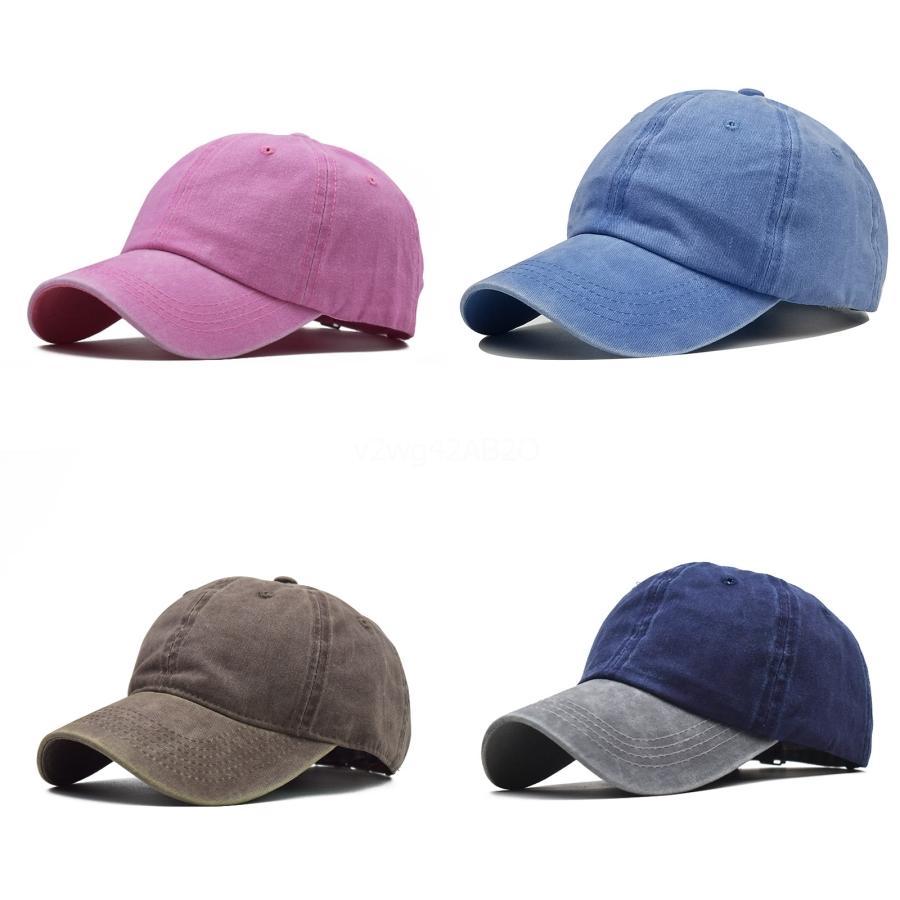 3 colores de béisbol de algodón Cap2020 de gorras de moda casquillos del verano pelota de playa de los sombreros de Sun M666F # 422 # 965