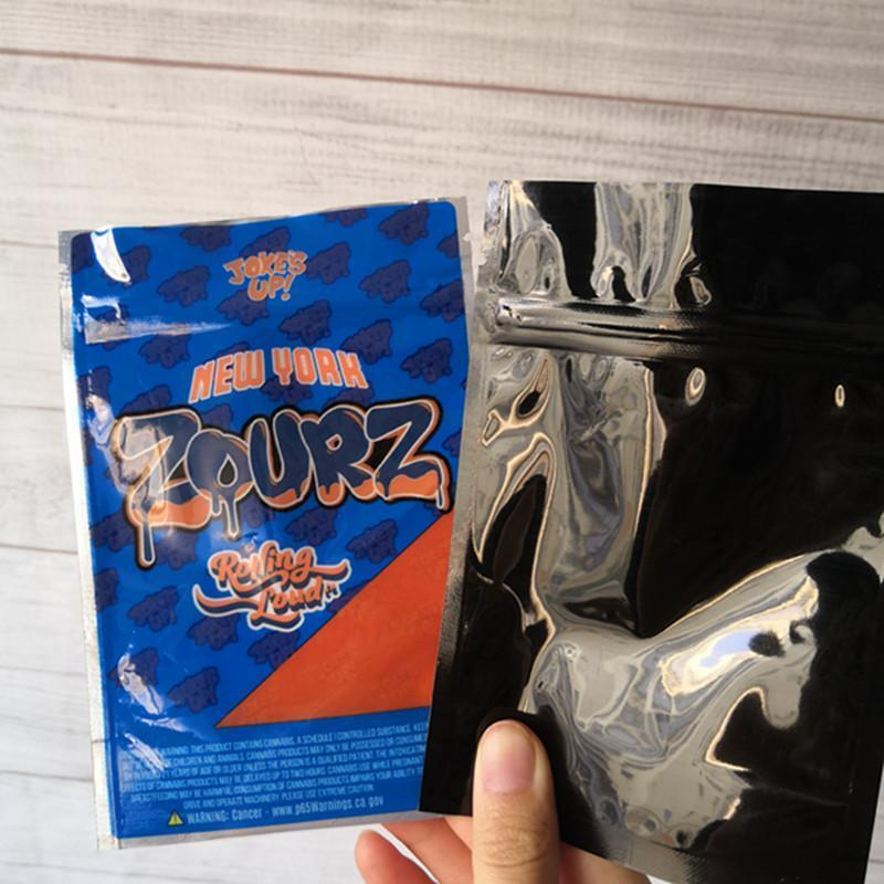 """Jokes Up 3.5g Mylar /""""Certz/"""" 25 Pack Smell Proof Ziplock Bag"""