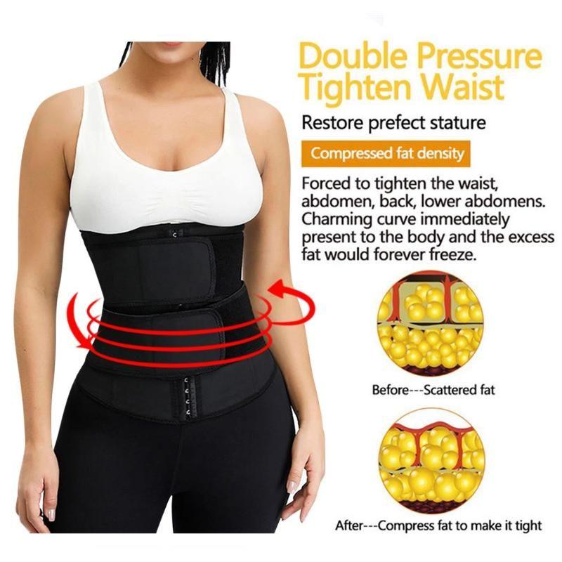 Le donne della vita Trainer lattice Cincher Guaine dimagramento shapewear del corpo della cinghia dello Shaper fitness corsetto Guaina Plus Size Waist Slim Cintura