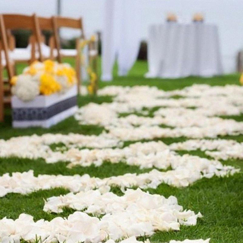 Petali di Rosa Flower Girl Toss falsi petali di seta artificiale per Wedding Party Eventi Confetti Decorazione-30 kyhp #
