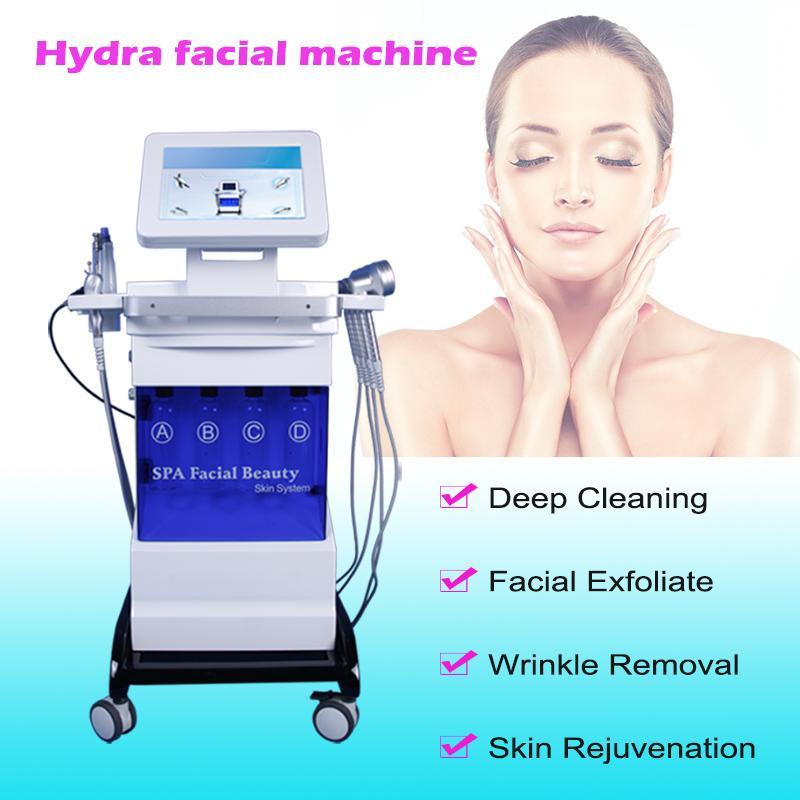 idro microdermoabrasione facciale Exfoliates impurità diamante dermoabrasione della pelle pulizia profonda idra acqua dermoabrasione spa la cura della pelle del viso