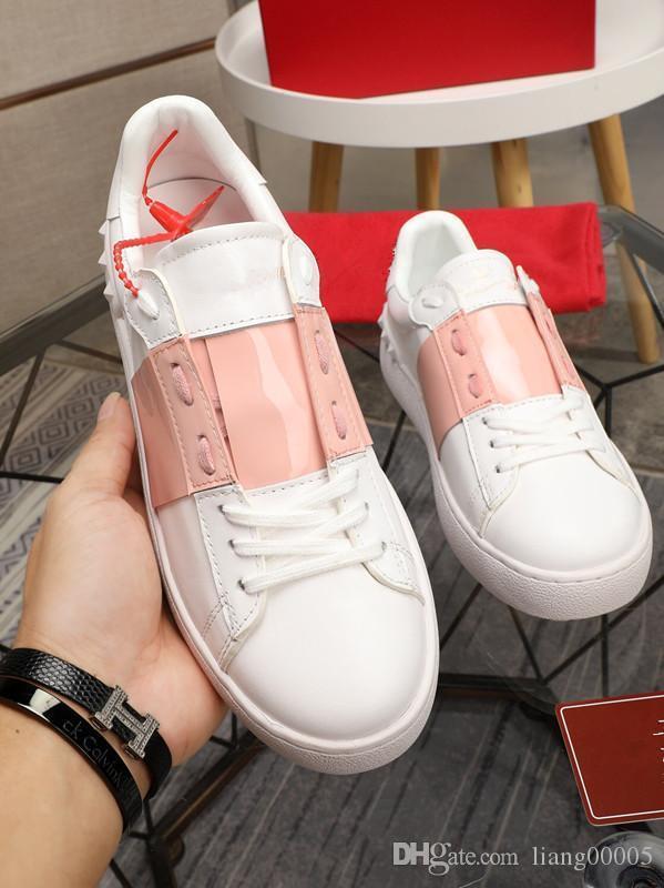 Marca Kanye West Arena Sapatos Homem Casual Sneaker Red Fashion Designer top Branca Partido preto alta Cheap Shoes instrutor jt0816
