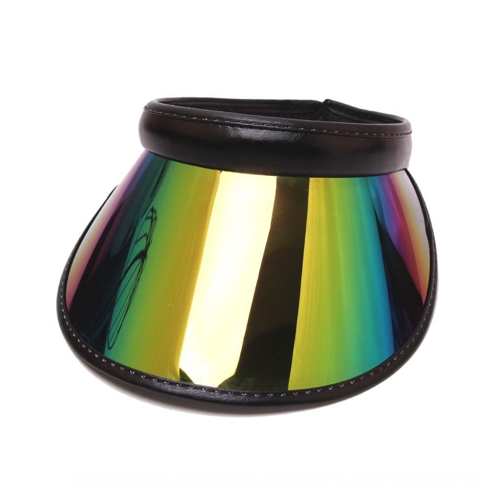 Nuovo nuovo sole per adulti per adulti PVC vuoto-top primavera e l'estate senza top hat viaggio cappello da sole a prova di raggi UV