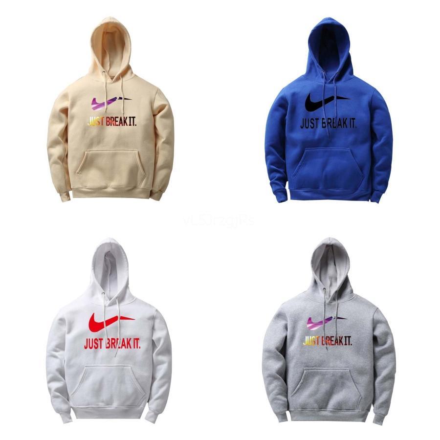 2020 neue Mens Designer Hoodies Pullover Reflective Letters Stickerei Polar Fleece Pullover Pullover Straße der Männer und der Hoodie # 277