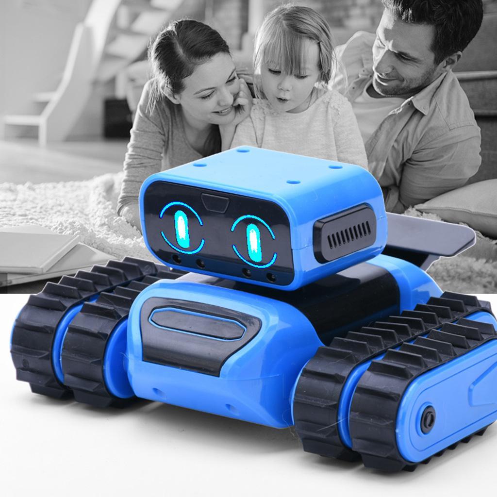 Creativo telecomando intelligente Giocattoli robot con il gesto di rilevamento luci e suoni regalo per i bambini