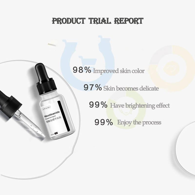 Fade teint inégal et hydratant Hydratant Anti Gonflement Enlever la peau rousseur huile-Control Nurish liquide solution mère en gros