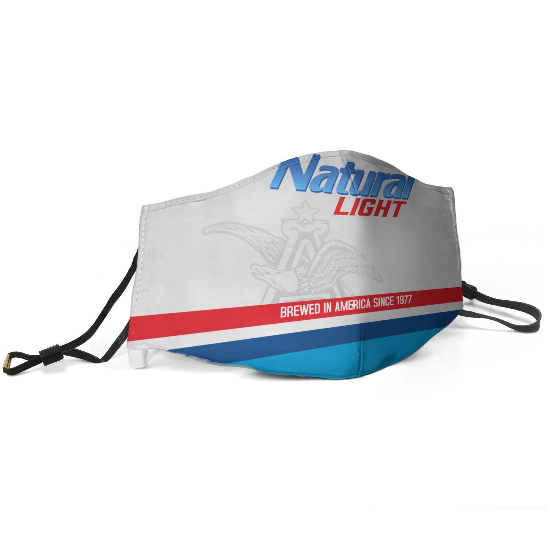 Естественный свет пиво, сваренное в Америке С 1977-A- Unisex регулируемый пылезащитной маски муфельной машина езды маски