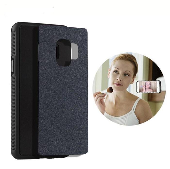 Антигравитационном Nano всасывания Телефон чехол для Samsung Glalaxy S9 S9 Plus Note9 Жесткий Вернуться Защитная оболочка