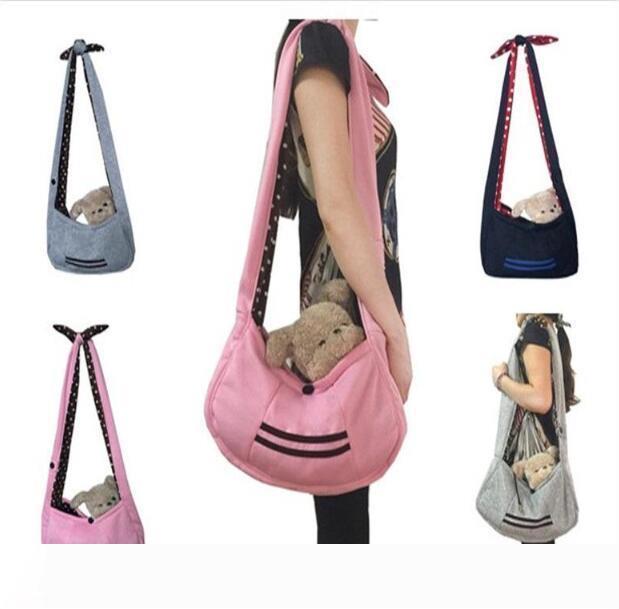 Pet Hunde Katzen Cloth Slings Taschen Schultertaschen Rucksäcke Carriers im Freien beweglichen Travel Rucksäcke