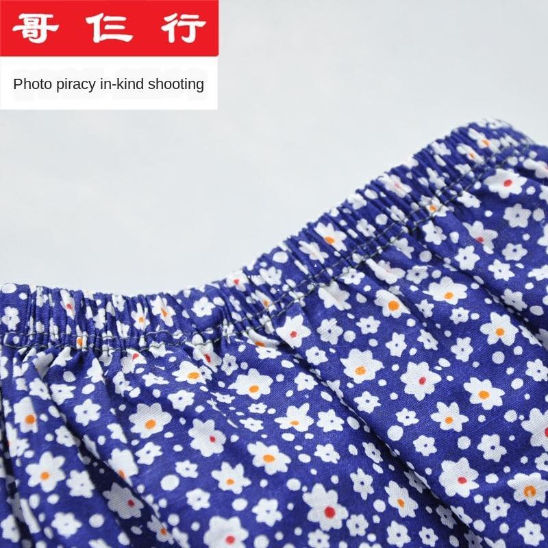 fFg2Q 2 Stück Baumwollunterwäsche für mittlere Alter und ältere Frauen verlieren Boxer Hosen pantsunderwear Boxer pantshigh Taillenhosen Kopf groß