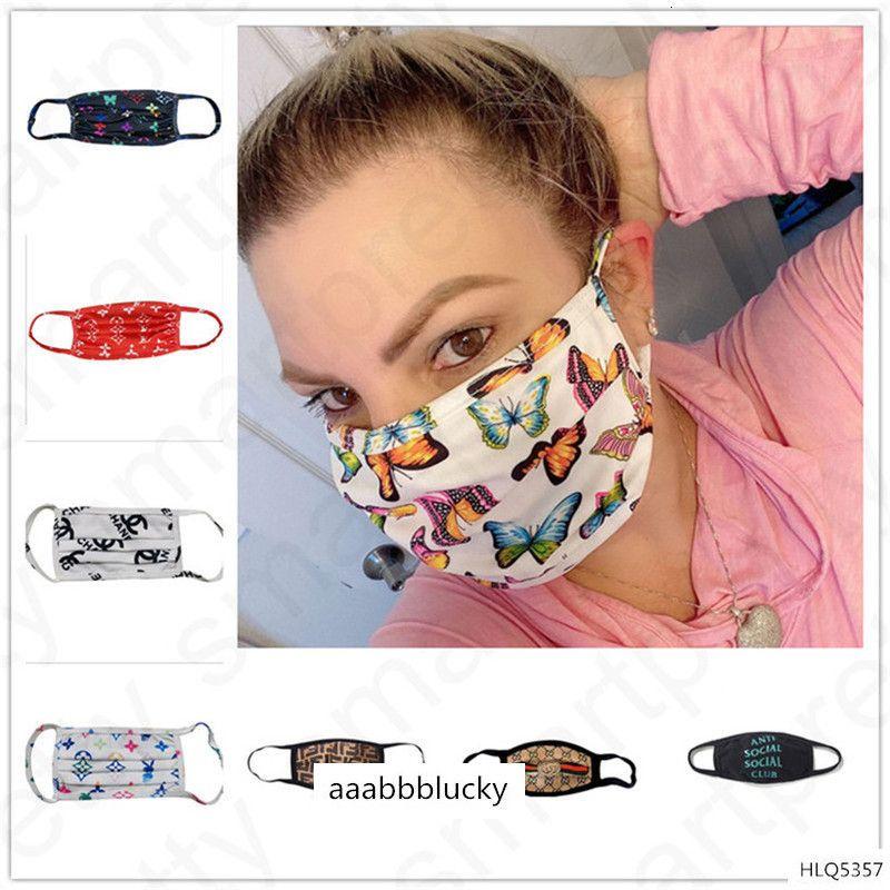 21 Styles design visage de luxe ultra-violet-preuve Anti-poussière Respirateur équitation Sports Cyclisme réutilisation masque de protection pour la bouche Hommes Femmes D4806