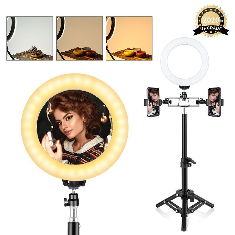 Fábrica de 6 polegadas LED selfie Ring Light 5W 5500K Estúdio Fotografia Foto encher de luz Anel para iphone Smartphone Maquiagem