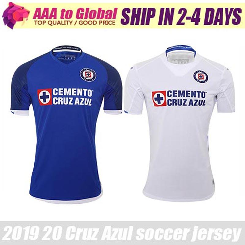 2020 Mexico Club Cruz Azul Liga MX jersey soccer Home CARAGLIO CAUTE MONTOYA HERNANDEZ Football Shirts camisetas de futbol
