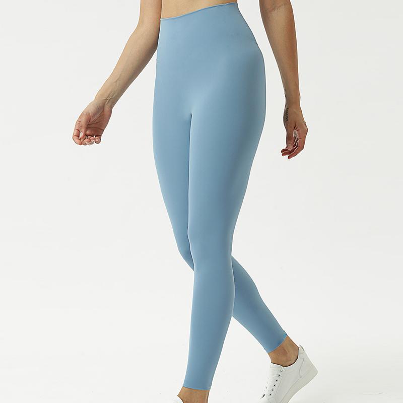 النساء اليوغا السراويل عالية الخصر بنطال رياضة الرياضة رياضة ملابس اللباس الداخلي مطاطا للياقة البدنية سيدة عموما الجوارب كاملة تجريب النسائية اللباس