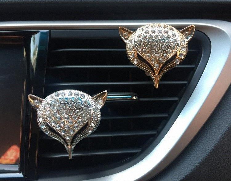 Car Air Freshener Diamond Head carro tomada Perfume Clipe Auto Perfume abertura de saída clipe Difusor XCZ608 CCDg #