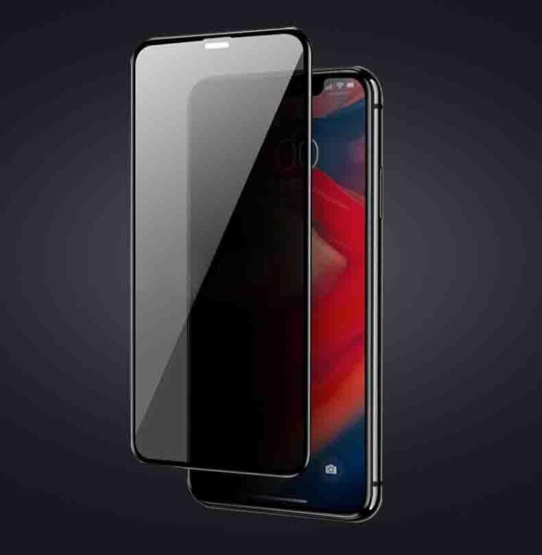 La protección de película para el iPhone 11Pro Max / 11Pro / 11 / XS Max X / XS de pantalla Filtro de privacidad Protectores protector de vidrio templado de Privacidad