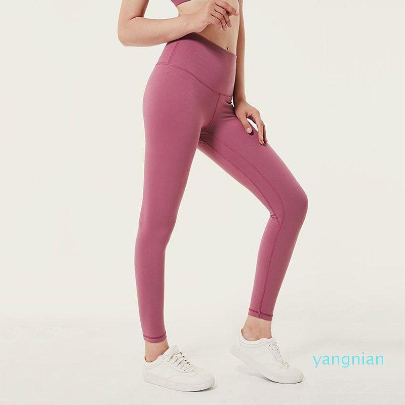 Fashion- Damen Leggings Frauen Hosen-Sport-Fitnessbekleidung Leggings Elastic Fitness Lady Overall Voll Tights Workout Yoga Pants Größe XS-XL