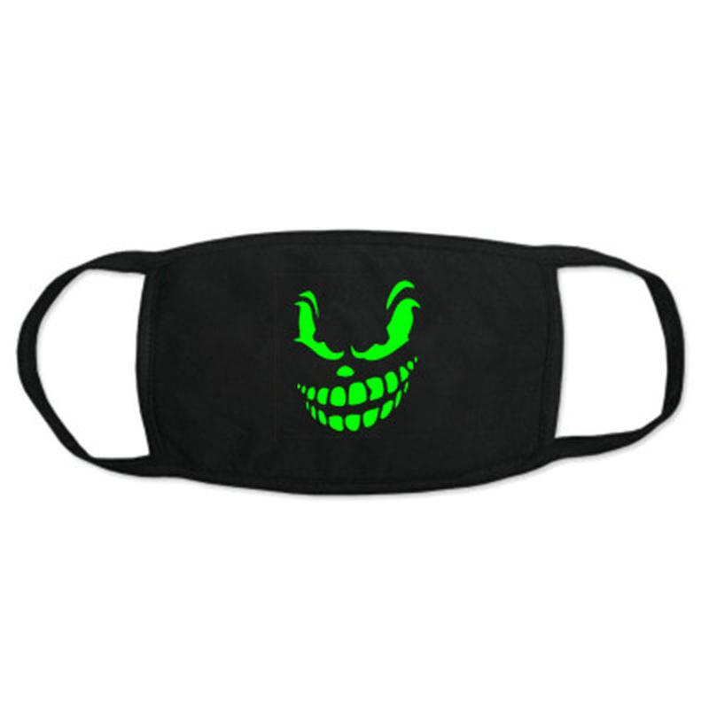 Glow Masks American Made Childs Size Glow In The Dark 2 Hole Winter Hood Skeleton Skull Ghost Ski Face Mask Balaclava Fits YMUOh xhlove