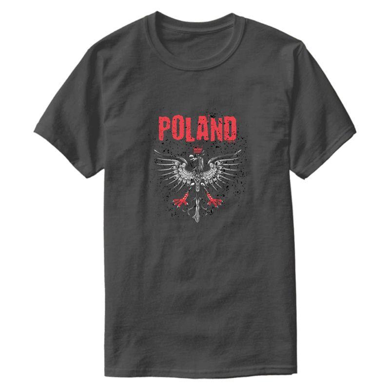 Men T Shirt personalizzata classica Polonia T shirt Uomo 2019 Streetwear modello manica corta girocollo Tee Top