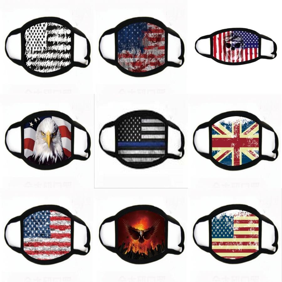 Moda Koruyucu Yüz Maskeleri Kadın Erkek Siyah Beyaz Toz Pamuk Ağız Maskeleri Unisex Yıkanabilir Yeniden kullanılabilir Maskeler 50Pcs Ücretsiz Kargo 200PCS T12 # 539